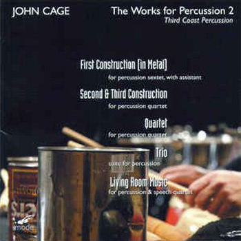 Works of Percussion Cover Art